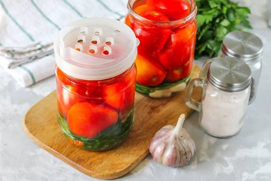 Лучший рецепт помидоров с горчицей на зиму без уксуса и стерилизации