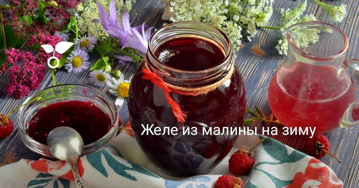 Густое варенье из малины — 6 рецептов малинового варенья на зиму