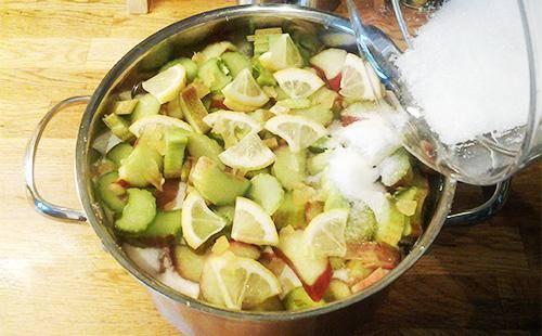 Рецепт варенья из огурцов