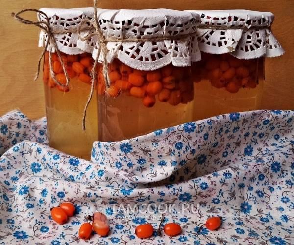 4 лучших рецепта приготовления компота из яблок и облепихи на зиму