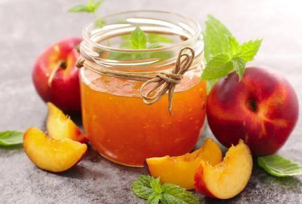 3 рецепта приготовления быстрого варенья из персиков на зиму