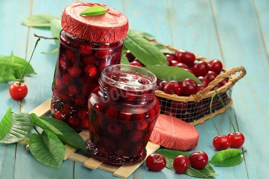 Войлочная вишня: вкусные заготовки на зиму