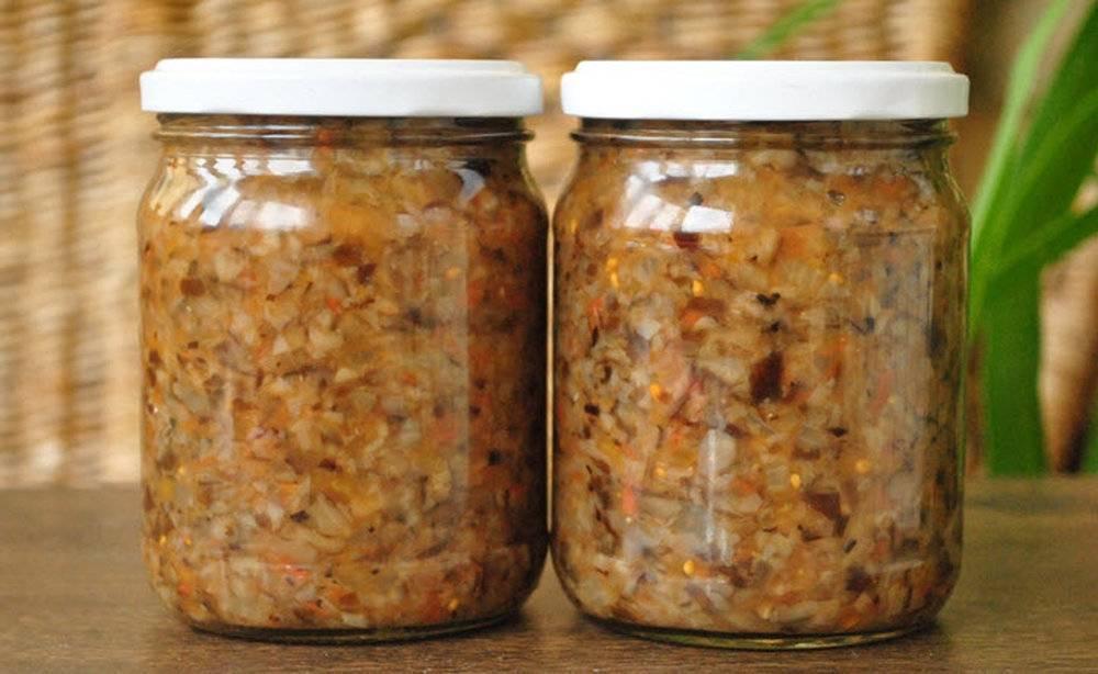 Икра грибная на зиму рецепт через мясорубку