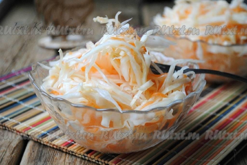 Топ 12 вкусных рецептов квашеной капусты быстрого приготовления