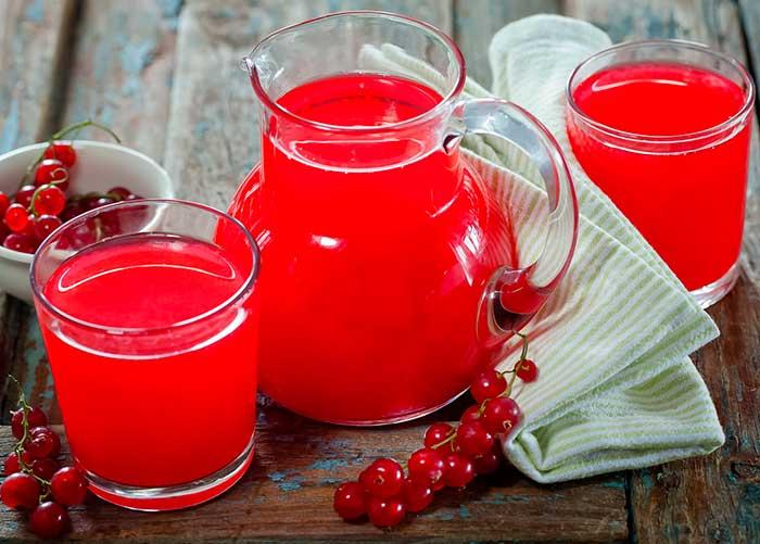 ТОП 3 рецепта приготовления компота из красной смородины и мяты на зиму