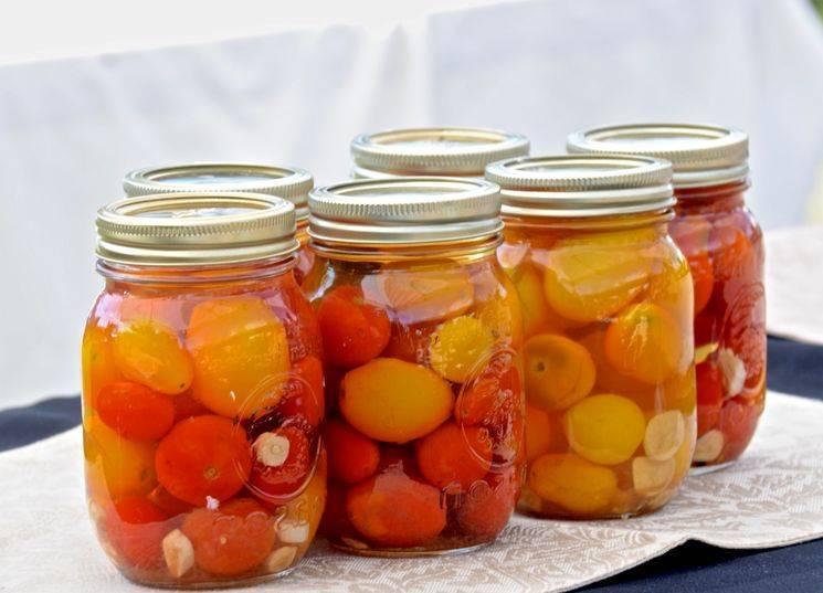 Маринованные помидоры на зиму ну очень вкусные – рецепты на 1 литровую и 3 литровую банку