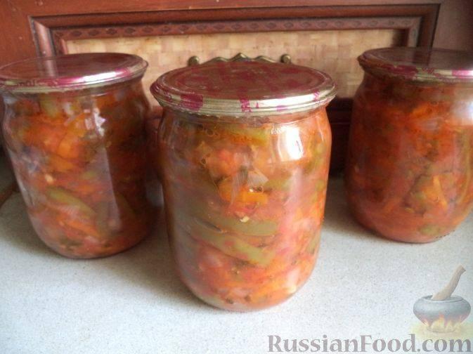 Рецепты консервации лобио на зиму из фасоли и овощей