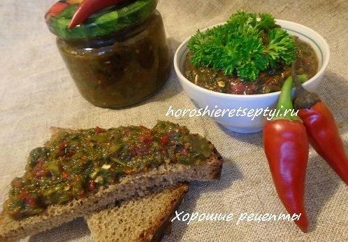 Зеленая аджика на зиму: острая, пряная, полезная. оригинальные абхазские, грузинские и русские рецепты зеленой аджики на зиму