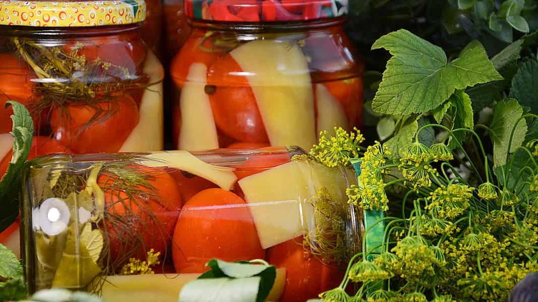 Консервированные помидоры на зиму - 11 рецептов