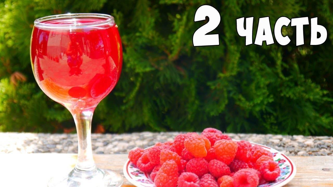 ТОП 2 рецепта приготовления вина из малины и смородины в домашних условиях