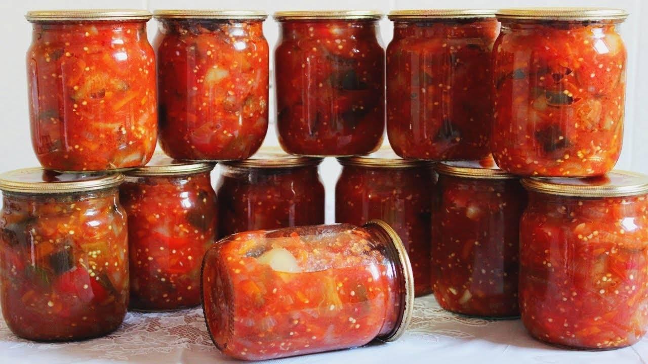 ТОП 6 рецептов приготовления маринованных баклажан с перцем на зиму