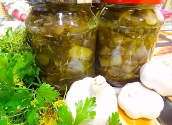 Три оригинальных салата «нежинский» из огурцов на зиму