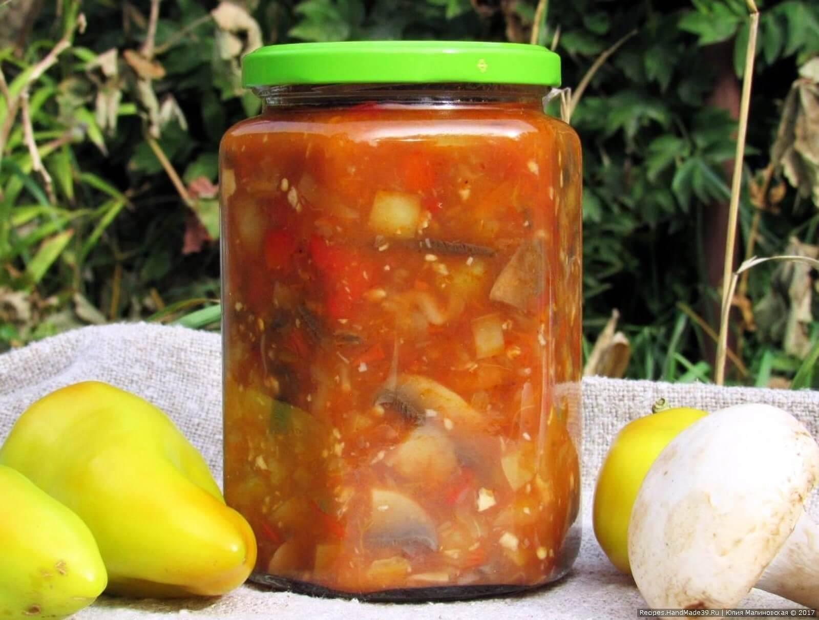 Лечо из перца и помидор — простые и вкусные рецепты с фото