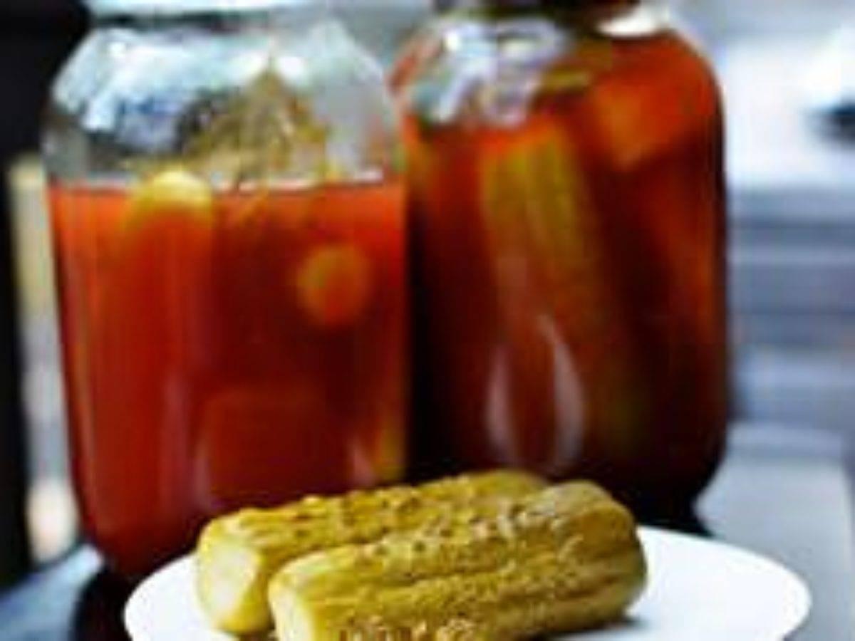 Консервированные с острым перцем или кетчупом чили помидоры рецепты