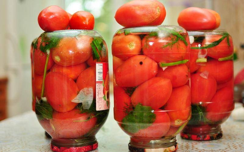 3 рецепта маринования помидоров с молотым черным перцем на зиму