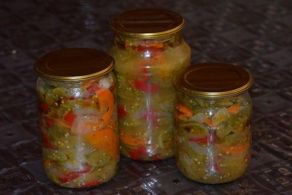 15 пошаговых рецептов овощного рагу на зиму со стерилизацией и без