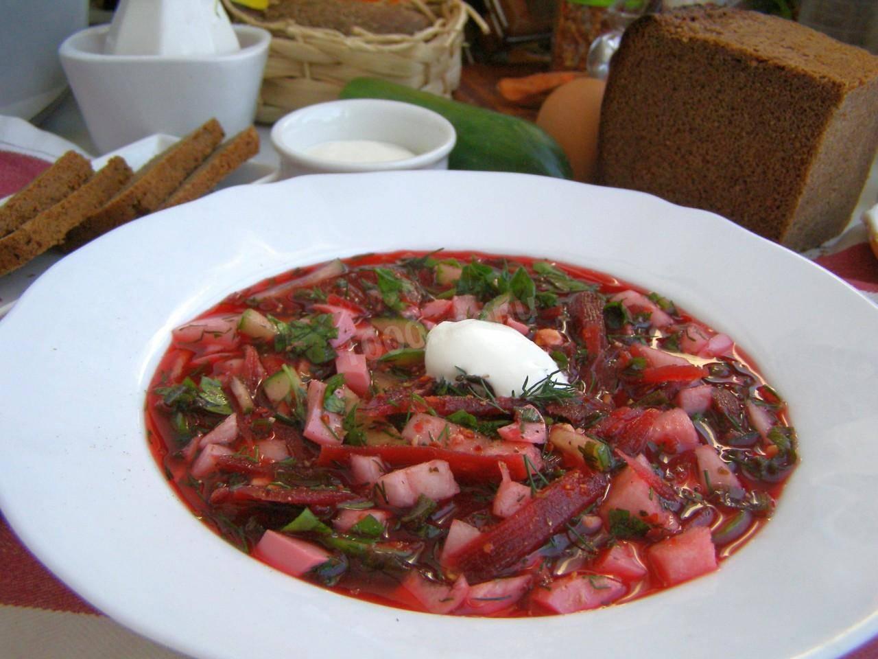 Холодный свекольник или холодник. как приготовить вкусный летний суп из свеклы. 6 рецептов пальчики оближешь.