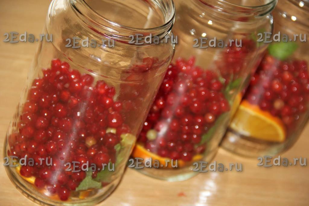Рецепты приготовления компота из красной смородины на зиму без стерилизации