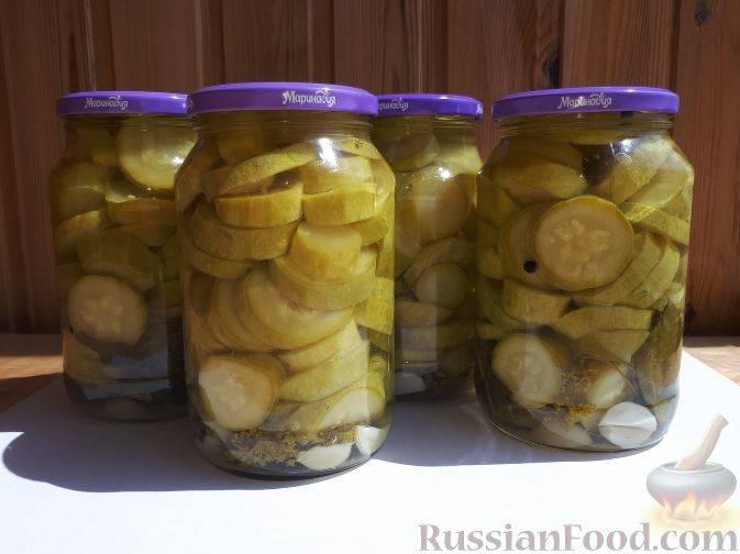 Маринованные кабачки быстрого приготовления: 10 рецептов