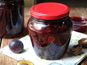 Варенье из яблок с грецкими орехами на зиму: рецепты с фото пошагово