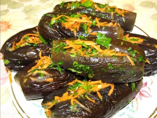 Рецепт баклажанов по-армянски