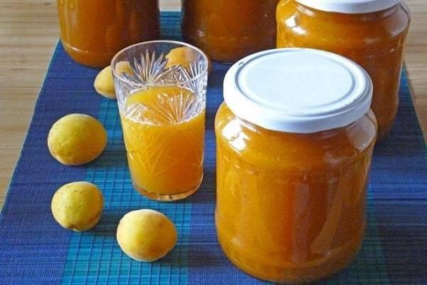 Рецепт абрикосового сока с мякотью на зиму