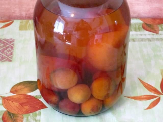 Компот из персиков на 3 литровую банку на зиму - 5 простых рецептов с фото пошагово