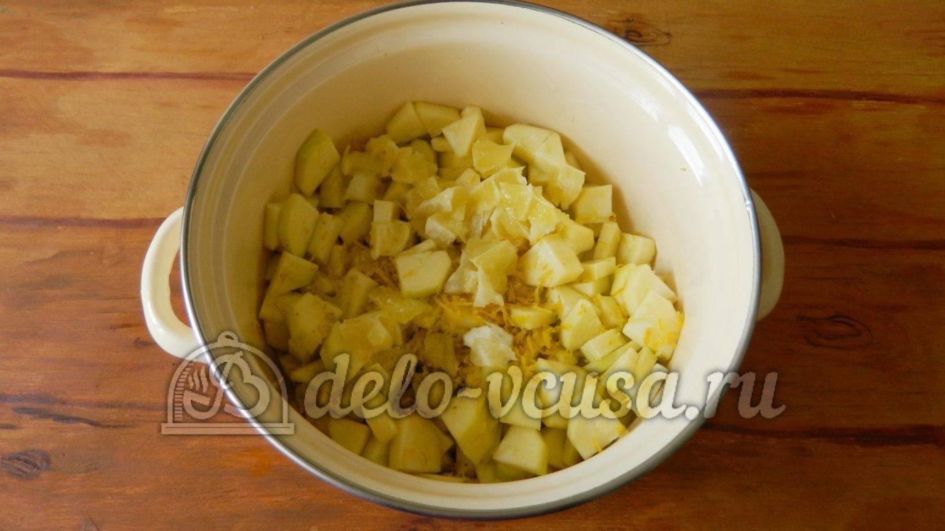 Варенье из кабачков с лимоном на зиму
