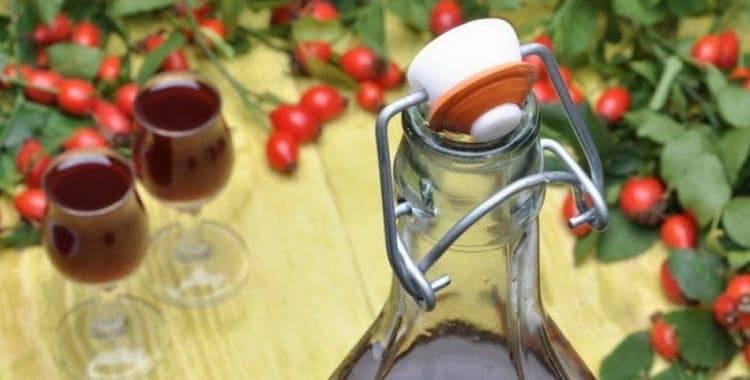 Приготовление домашнего вина из шиповника