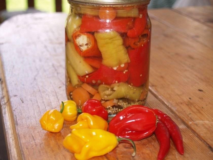 10 вкусных рецептов маринованного острого перца по-армянски на зиму, особенности приготовления и хранения
