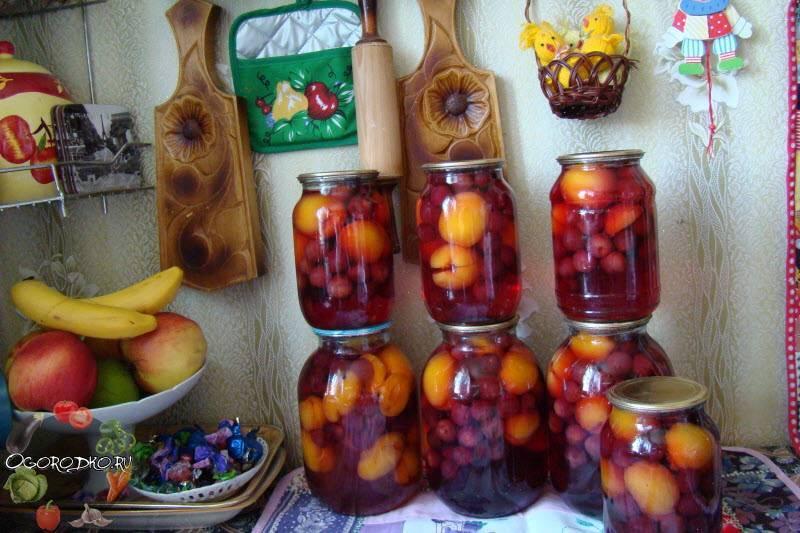 Компот из яблок на зиму – как приготовить вкусную заготовку