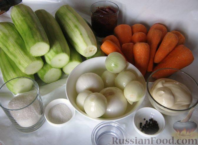 Заготовки из кабачков: «золотые рецепты»