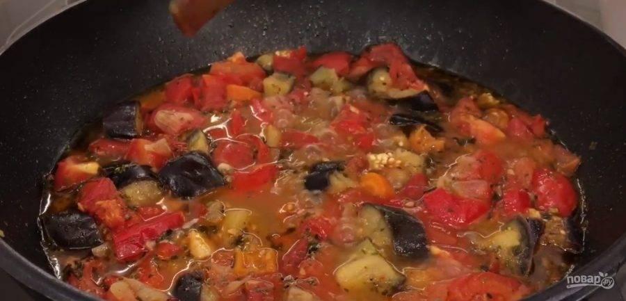 Рецепт приготовления баклажанов по-гречески на зиму