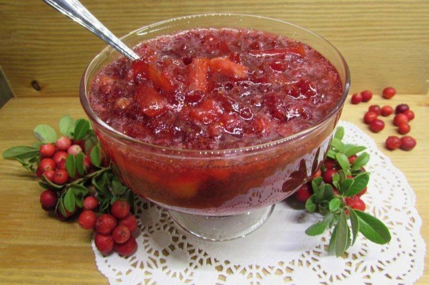 Топ 8 вкусных рецептов приготовления брусники, протертой с сахаром на зиму