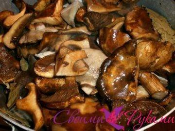 Маринованные грибы в домашних условиях