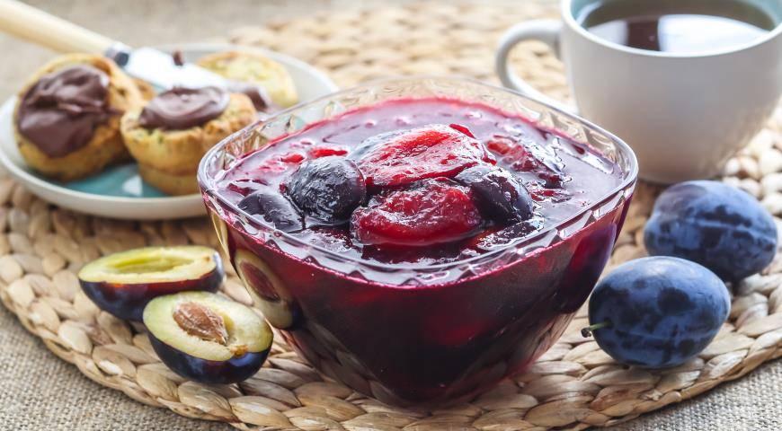 Простой рецепт приготовления варенья из чернослива на зиму