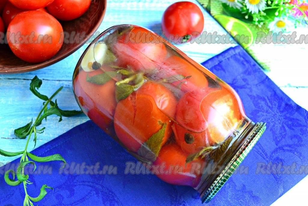 Сладкие помидоры, маринованные с чесноком на зиму - 5 очень вкусных рецептов с фото пошагово