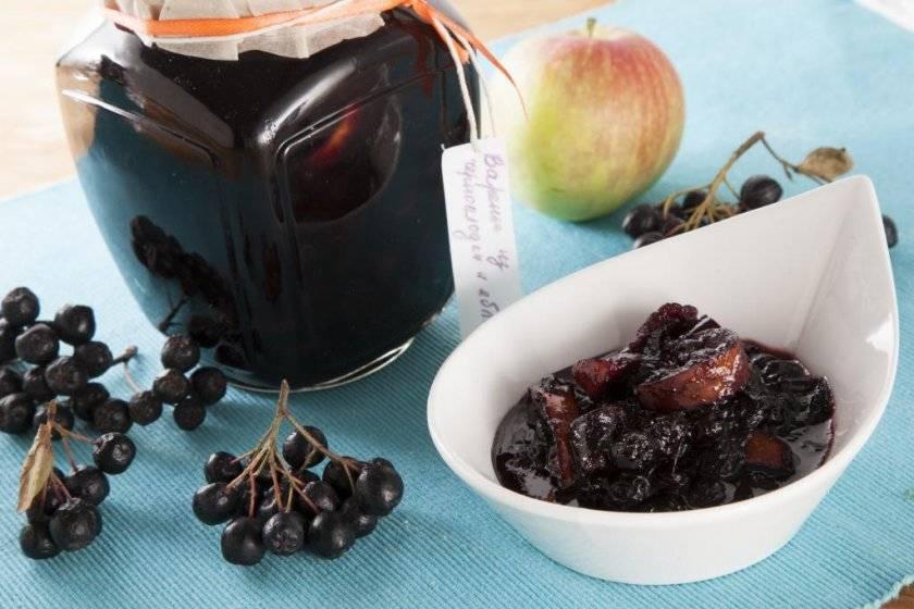 Варенье из черноплодной рябины: вкусные и полезные рецепты