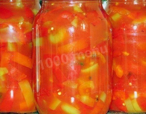 Лечо из перца, моркови и лука на зиму