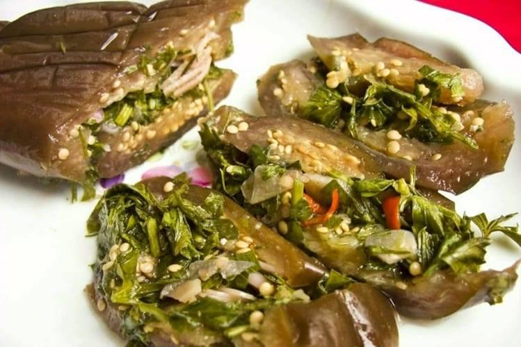 Соленые баклажаны: топ-6 рецептов