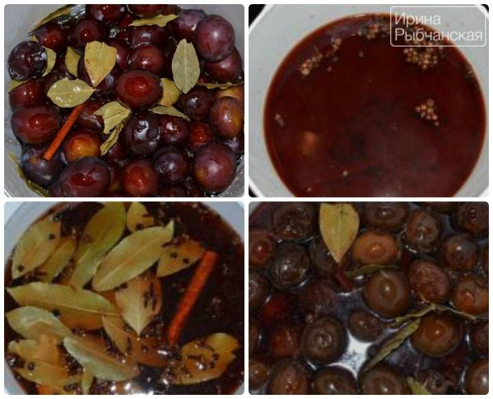 Как мариновать сливы рецепты маринованных слив на зиму – закусочных, с чесноком, к мясу