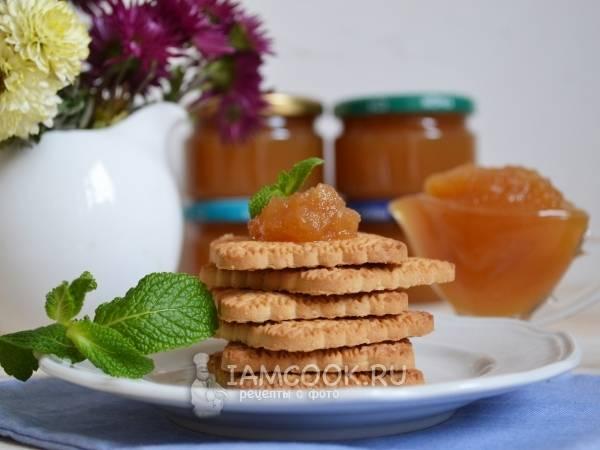 Простой рецепт варенья из яблок в мультиварке на зиму