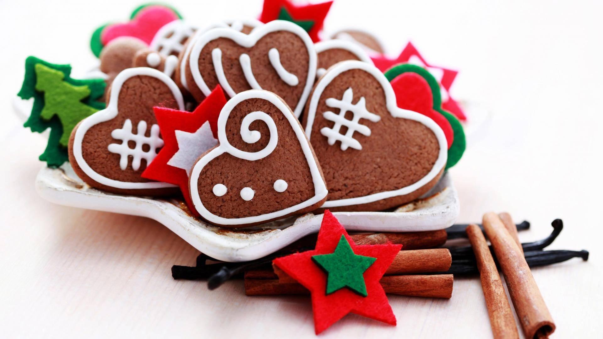 Как приготовить печенье на новый год в подарок