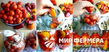 Салат из желтых помидор на зиму