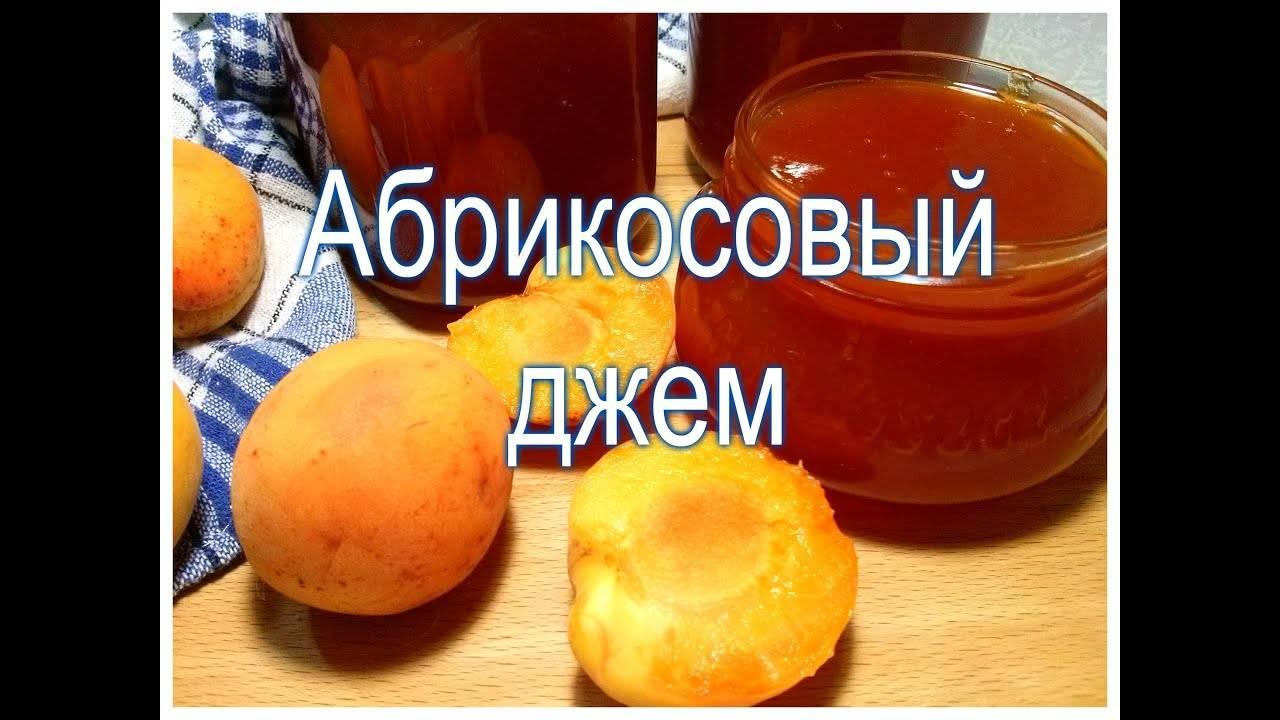 Абрикосовый джем на зиму — рецепт с фото приготовления в мультиварке, с ядрами, видео