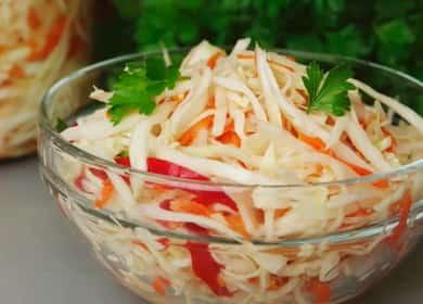 Как сделать маринованную капусту быстрого приготовления в банке – проверенные временем вкусные рецепты