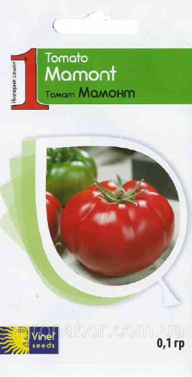 Томат мамонт — описание сорта, урожайность, фото и отзывы садоводов