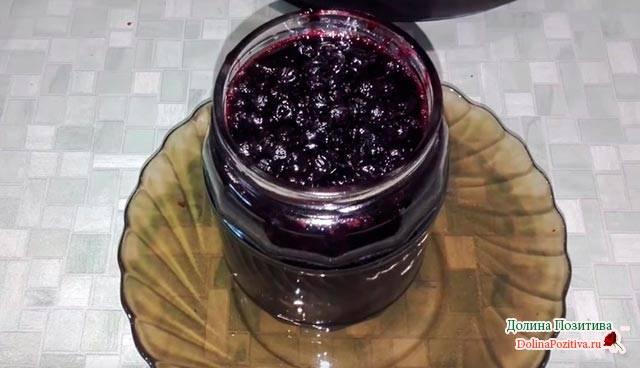 Варенье изчерники: быстрые рецепты назиму, способы приготовления без варки, сфруктами ижелатином