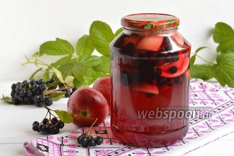 Заготовка черноплодной рябины на зиму: лучшие рецепты