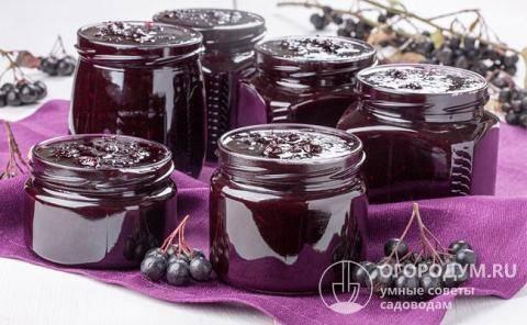7 простых рецептов приготовления варенья из черноплодной рябины на зиму